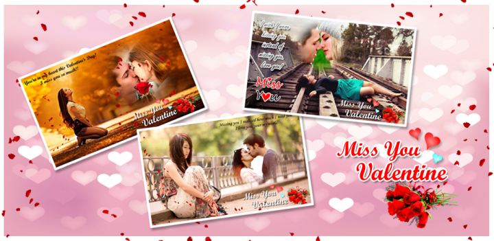 miss you valentine frames happy valentines day miss you photo frames valentine day special valentine greeting cards valentine cards miss you